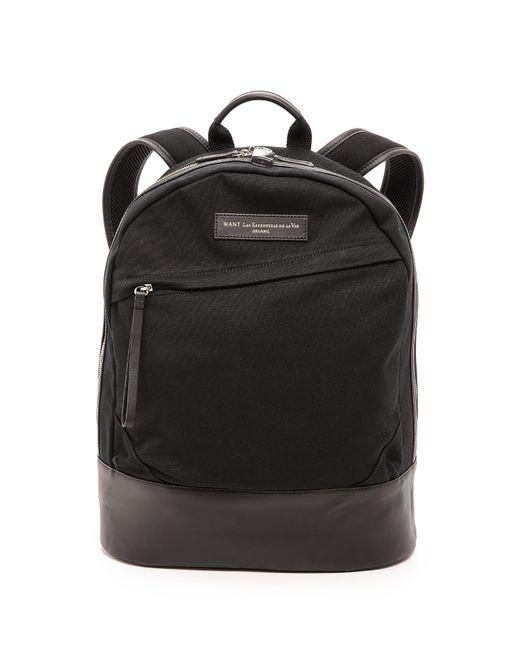 Want Les Essentiels De La Vie | Black Kastrup Backpack for Men | Lyst