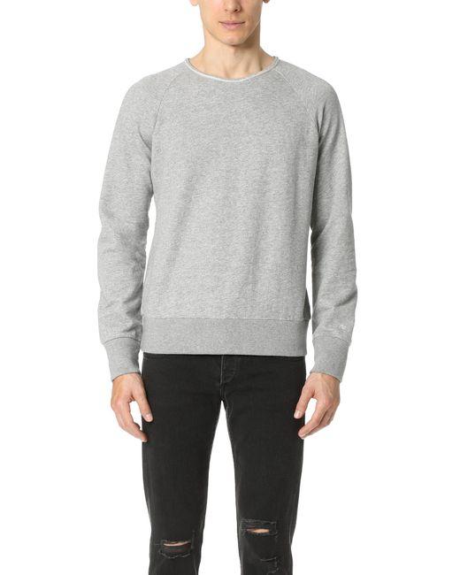 Rag & Bone | Gray Standard Issue Sweatshirt for Men | Lyst