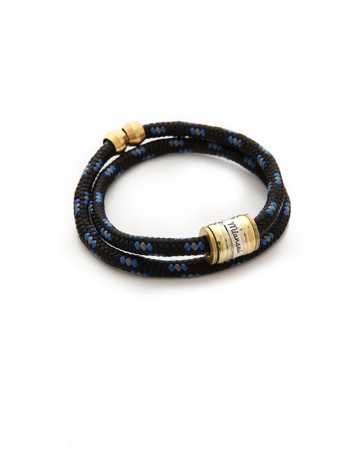 Miansai | Black Casings Rope Bracelet for Men | Lyst
