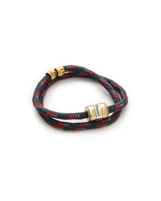 Miansai | Blue Casings Rope Bracelet for Men | Lyst