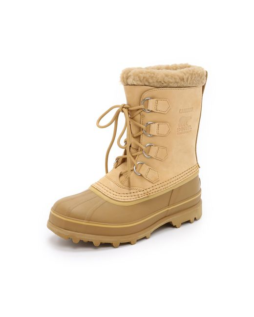 Sorel | Natural Caribou Boots for Men | Lyst