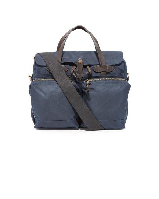 Filson - Blue 24 Hour Briefcase for Men - Lyst