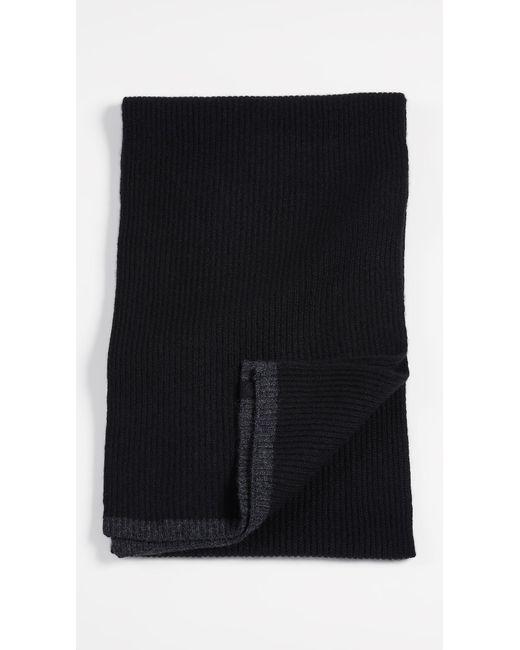 Rag & Bone - Black Ace Cashmere Scarf for Men - Lyst