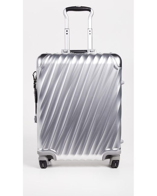 Tumi - Metallic 19 Degree Aluminum Continental Carry On Suitcase for Men - Lyst