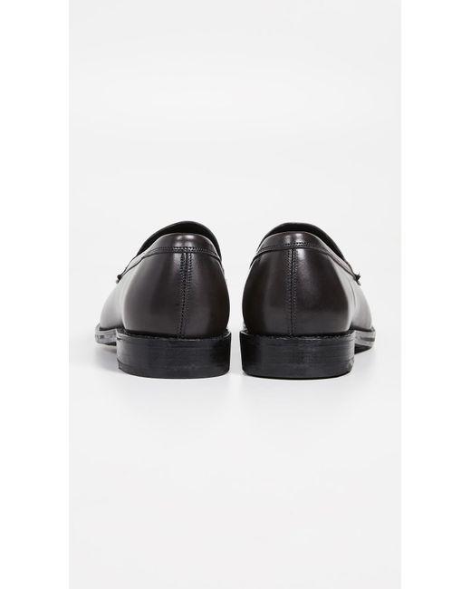 95ee778c95d ... Allen Edmonds - Black Wooster Loafers for Men - Lyst ...