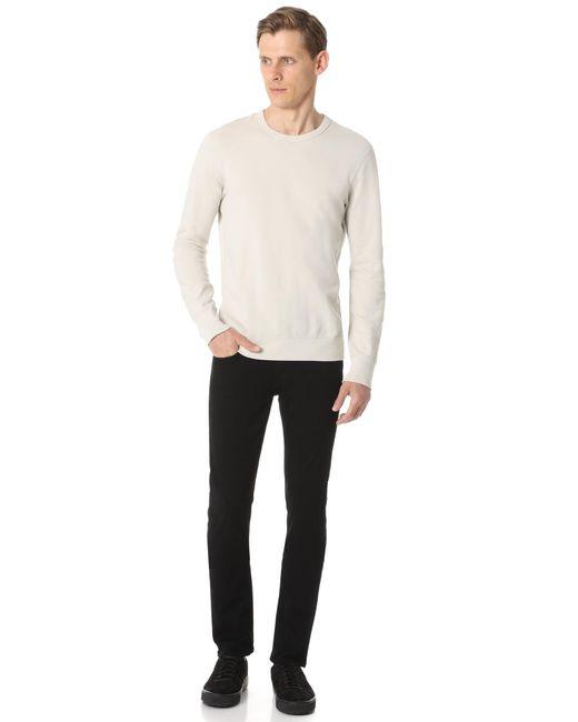 PAIGE Lennox Black Shadow Jeans for men