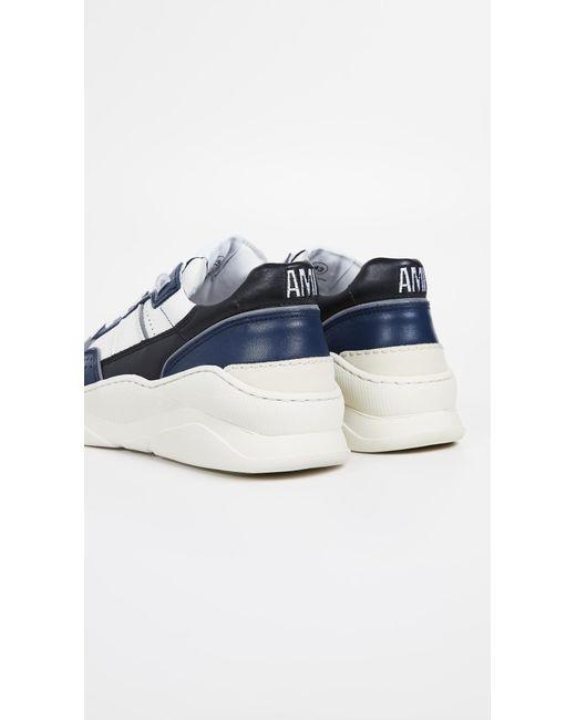 nouveau concept 97459 6b519 Men's Blue Basket Basse Sneakers