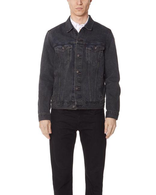 Levi's - Gray Trucker Jacket for Men - Lyst