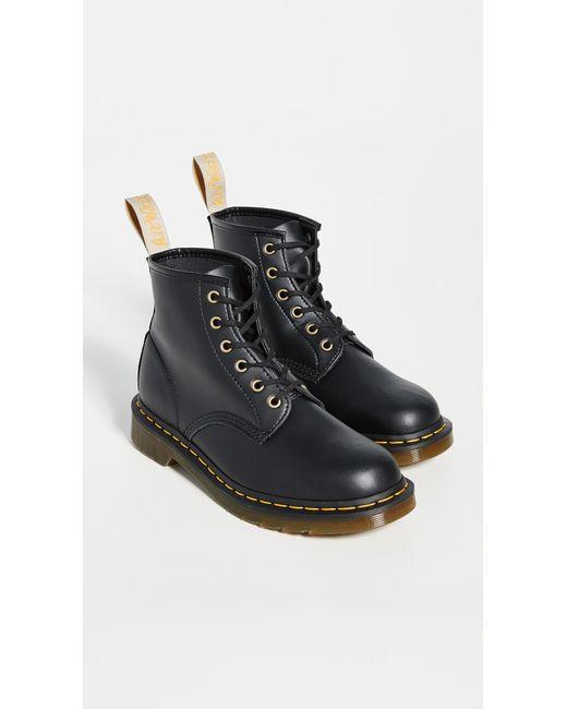 69f40e8120f Men's Black Vegan 101 6 Eye Boots