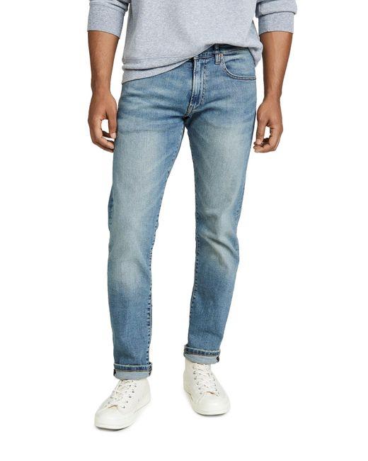 Polo Ralph Lauren Blue Varick Slim Straight Fit Jeans for men