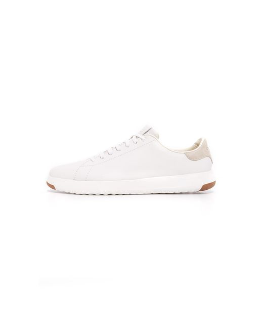 Cole Haan White Grandpro Tennis Sneakers for men