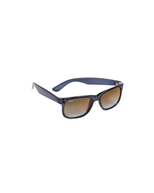 3fbb328ff0 Ray-Ban - Blue Justin Flash Gradient Sunglasses for Men - Lyst ...