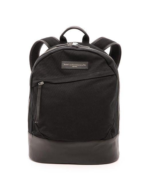 Want Les Essentiels De La Vie   Black Kastrup Backpack for Men   Lyst