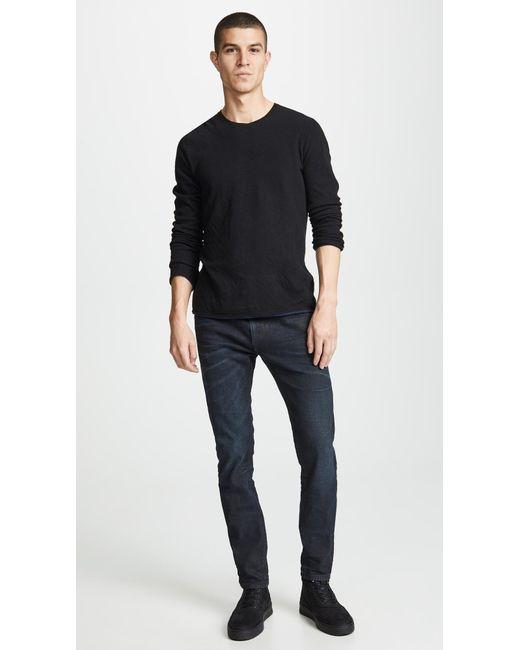 862d5da0 ... DIESEL - Blue Thommer Slim Fit Jeans for Men - Lyst ...