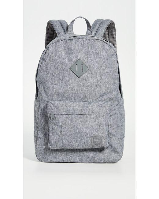 Herschel Supply Co. Gray Heritage Light Backpack for men