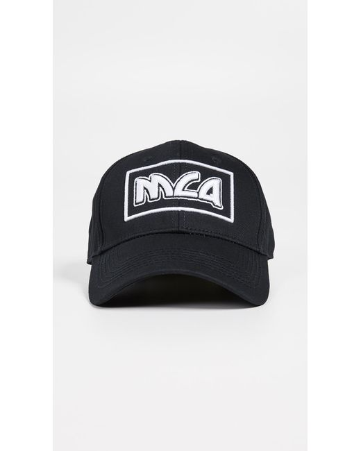 145e56069a4b6 McQ Alexander McQueen - Black Metal Logo Baseball Cap for Men - Lyst ...