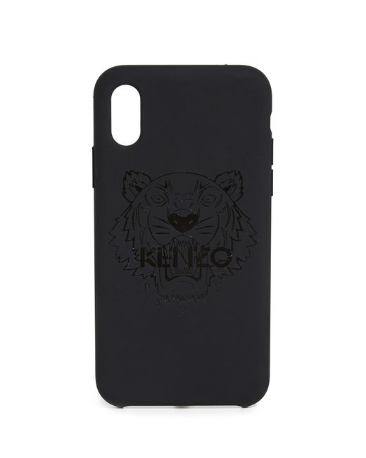 5605ca69bb KENZO Tiger Head Iphone X / Xs Case in Black for Men - Save 2% - Lyst