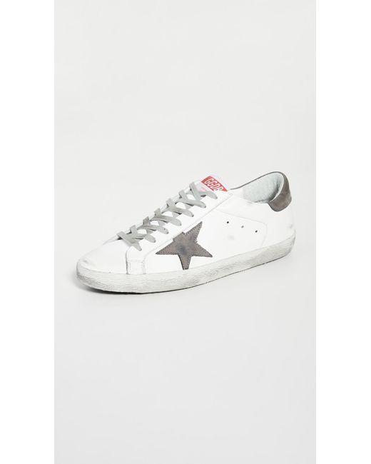 Golden Goose Deluxe Brand White Superstar Sneakers for men