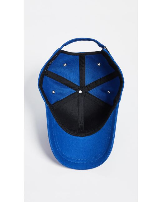 bf26a529a24 ... PS by Paul Smith - Blue Ps Zebra Baseball Cap for Men - Lyst ...
