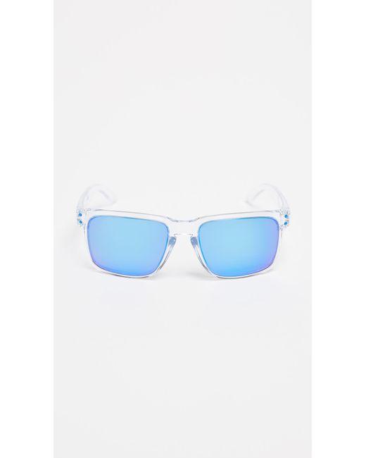 579495727cd Oakley - Blue Holbrook Xl Polarized Sunglasses for Men - Lyst ...