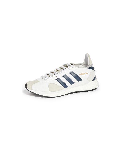 Adidas Blue X Human Made Tokio Solar Sneakers for men