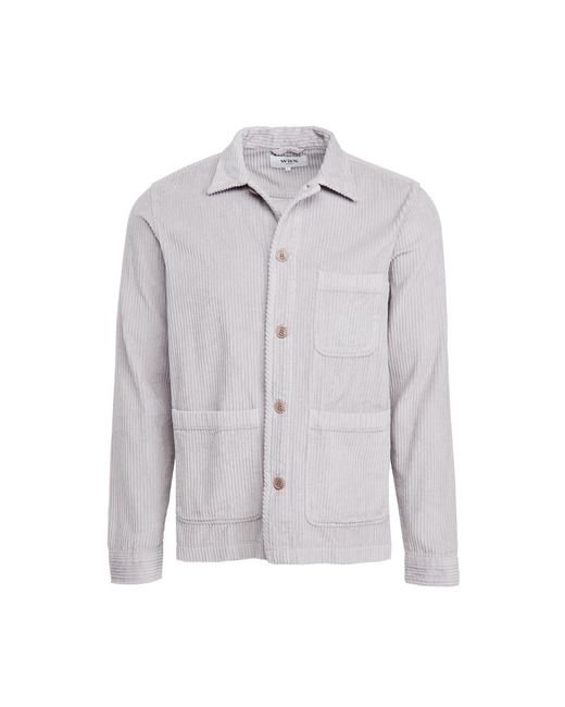 Wax London Gray Chet Jumbo Cord Jacket for men