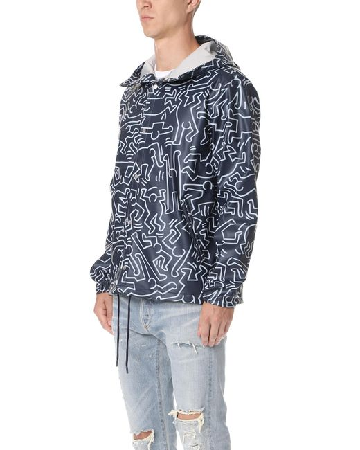 supply forecast herschel supply co keith haring forecast hooded coach jacket in