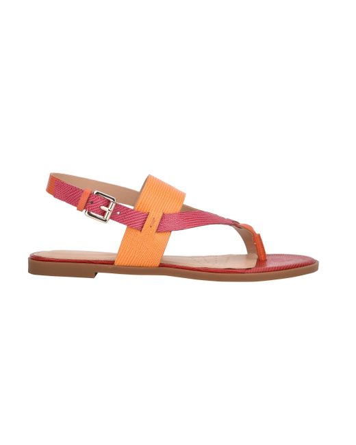 Easy Spirit Multicolor Avah Flat Sandals