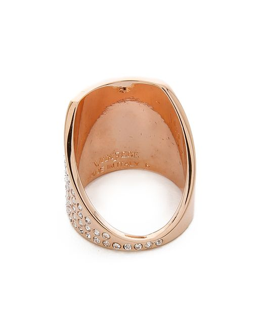 Vita Fede | Pink Inclinato Ring | Lyst
