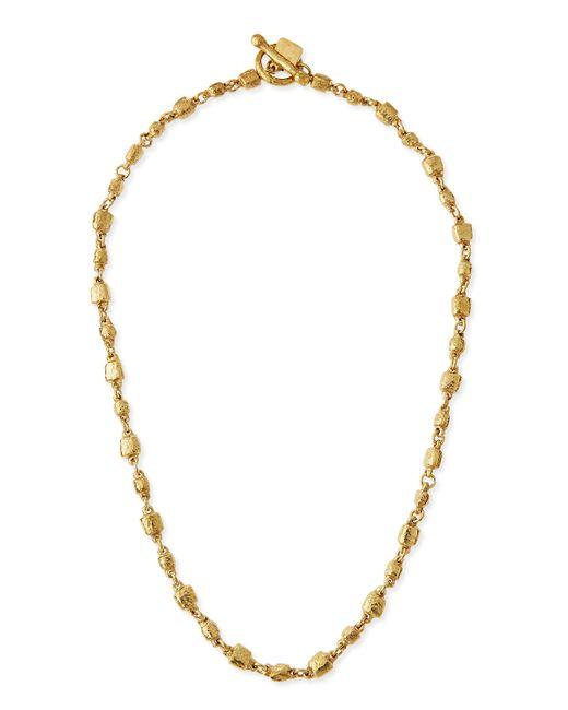 Ashley Pittman | Metallic Nafsi Bronze Beaded Necklace | Lyst