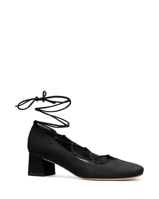 Stuart Weitzman | Black The Cordon Pump | Lyst