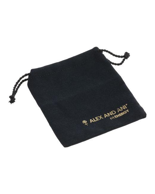 ALEX AND ANI   Metallic University Of Georgia® Logo Charm Bangle   Lyst