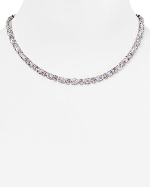 "Nadri | Metallic All Around Collar Necklace, 16"" | Lyst"