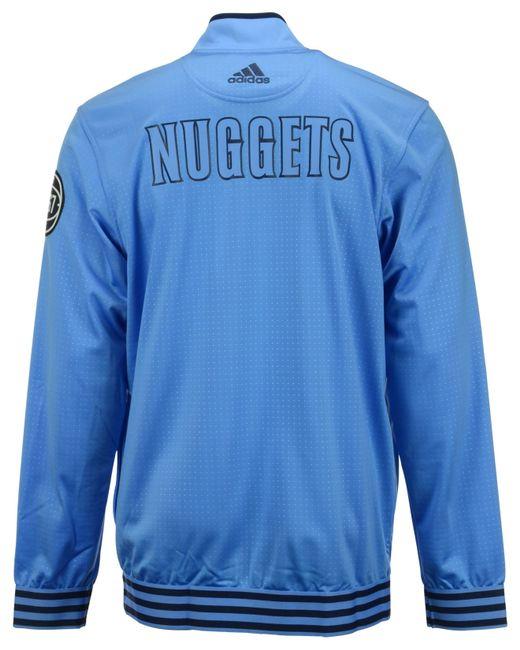 Adidas Originals Men's Denver Nuggets On Court Warm Up