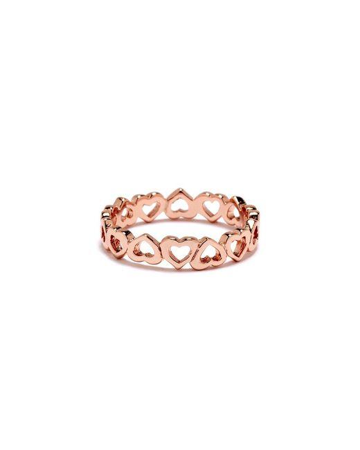 Bing Bang | Pink Eternity Heart Ring | Lyst