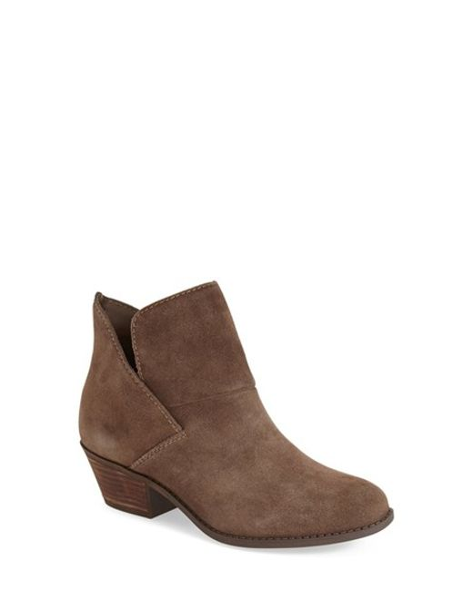Me Too | Brown 'zale' Bootie (women) | Lyst