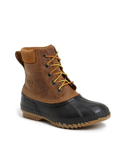Sorel | Brown 'cheyanne' Snow Boot for Men | Lyst