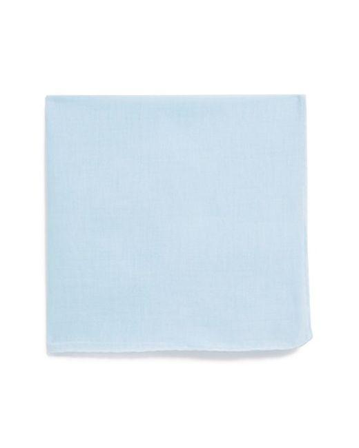 John W. Nordstrom | Blue John W. Nordstrom Linen Pocket Square for Men | Lyst