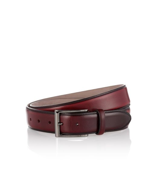 BOSS Red Belt In Smooth Leather: 'lavior' for men