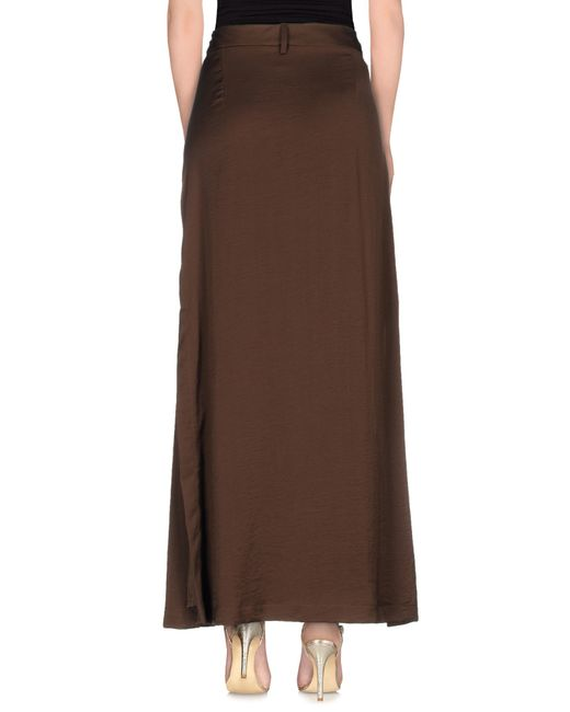 Kathys Skirt ($90) liked on Polyvore featuring skirts, bottoms, steampunk, long skirts, dressy maxi skirts, renaissance skirt, long dressy skirts, long gothic skirts and long brown skirt .