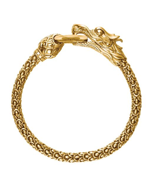 John hardy gold naga dragon o ring bracelet in gold lyst for John hardy jewelry factory bali