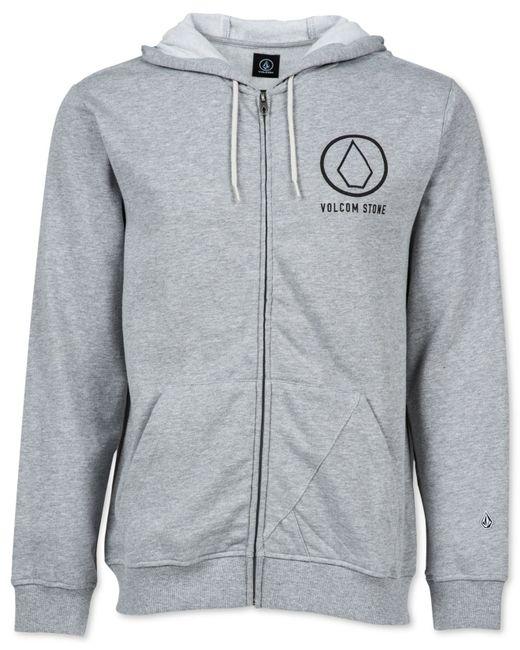 Volcom full zip hoodie