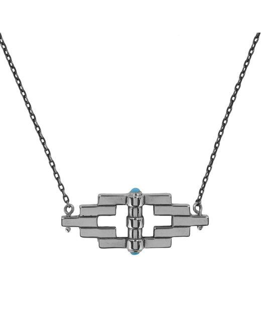 Pamela Love | Metallic Small Reflection Pendant In Silver | Lyst