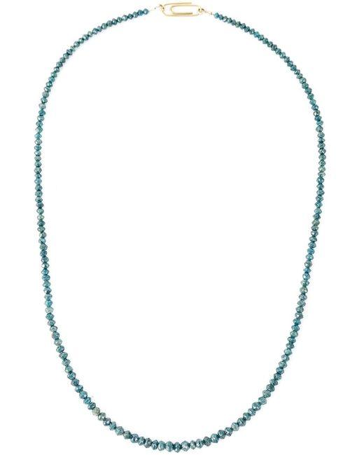 Uzerai Edits | Green String Diamond Necklace | Lyst