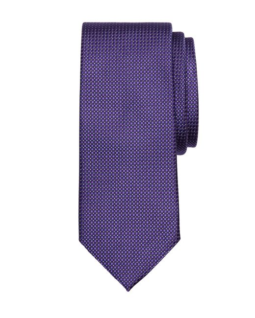 Brooks Brothers | Purple Framed Square Tie for Men | Lyst