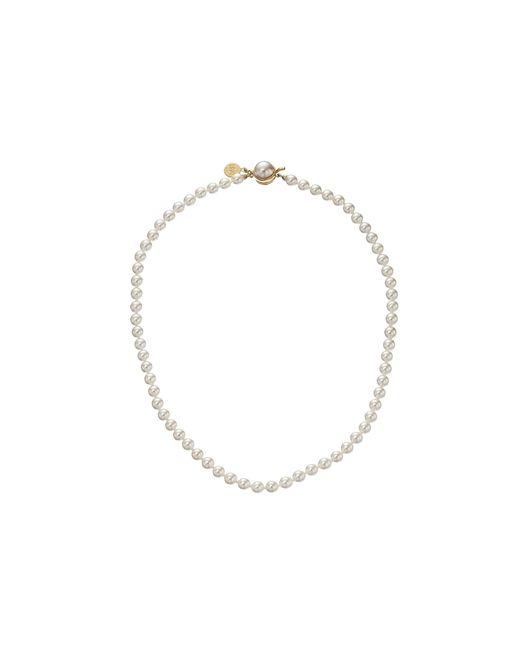 Majorica   Metallic 6mm Pearl Strand Necklace   Lyst