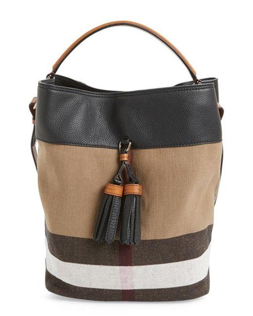 4a4421d7e9c5 Burberry   39 medium Susanna  39  Check Bucket Bag ...