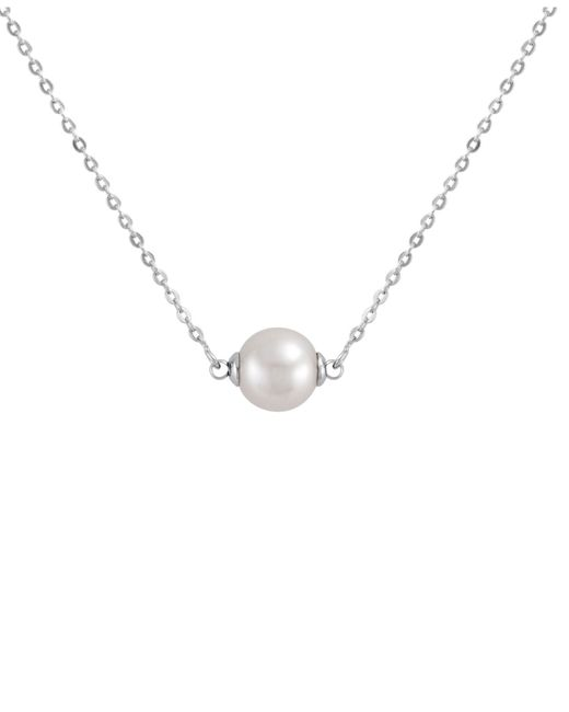 Majorica | Organic Man Made White Pearl (8 Mm) And Sterling Silver Pendant | Lyst