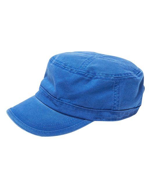 Alternative Apparel | Blue Fidel Cap W/cross Stitch Top for Men | Lyst