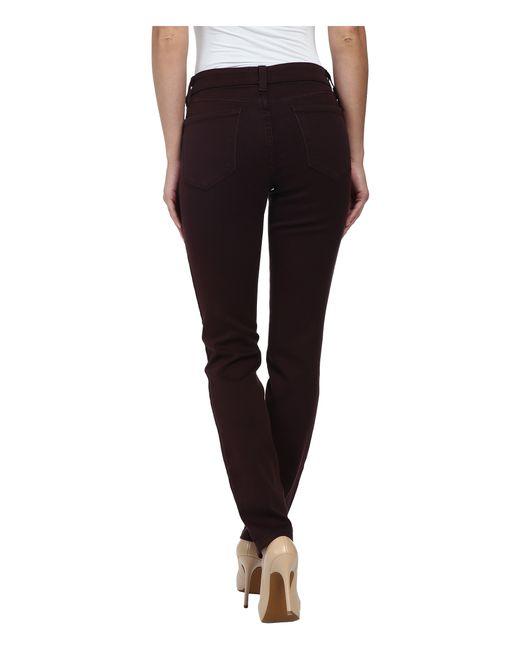 NYDJ | Brown Alina Legging Super Stretch Denim | Lyst